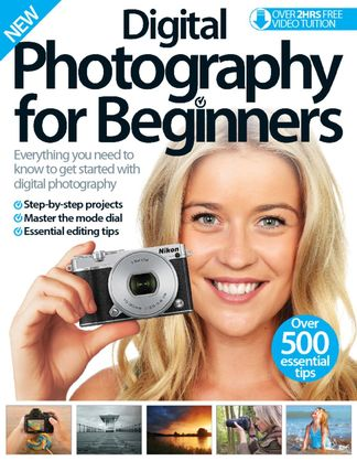 Digital Photography For Beginners cover
