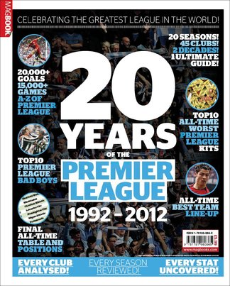 The Best League in the World: 20 years of The Prem digital cover