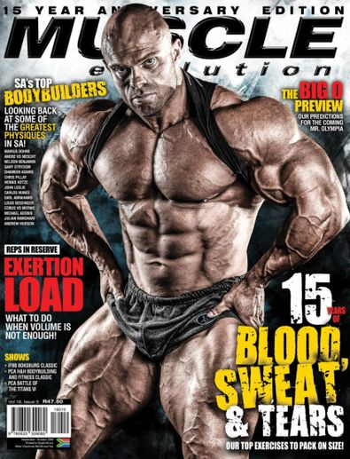 Muscle Evolution digital cover