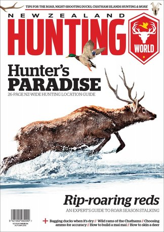 NZ Hunting World digital cover