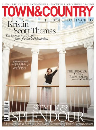 Town & Country UK digital cover