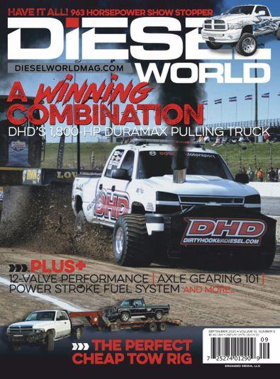 Diesel World digital cover