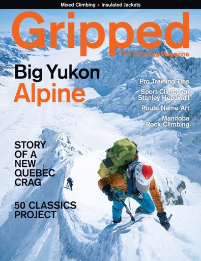 Gripped: The Climbing Magazine digital cover