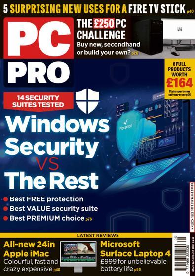PC Pro digital cover