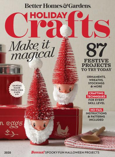 Holiday Crafts digital cover