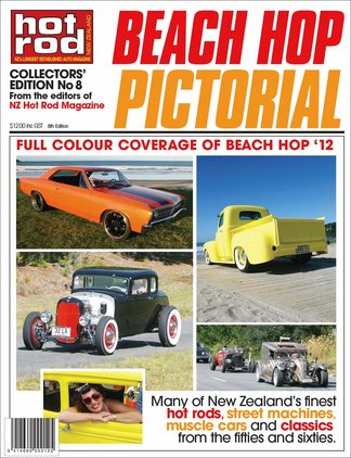 Hot Rod Beach Hop Pictorial digital cover