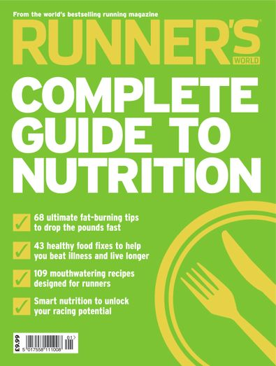 Runner's World Complete Guide to Nutrition digital cover