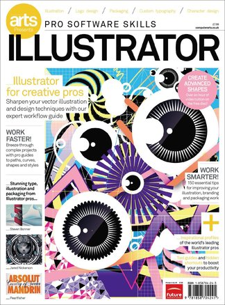 Computer Arts Pro Software Guide: Illustrator digital cover
