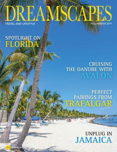Dreamscapes Travel & Lifestyle Magazine digital cover