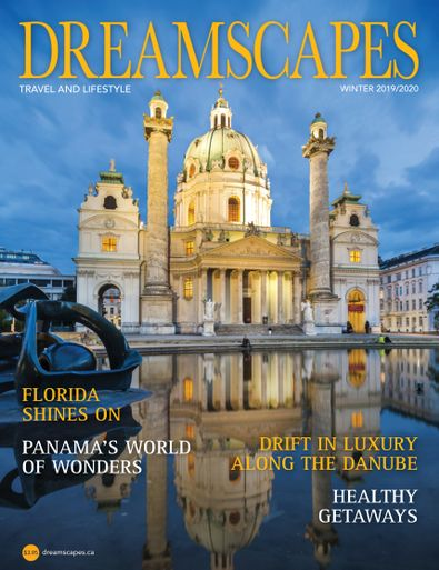 Dreamscapes Travel & Lifestyle Magazine digital cover