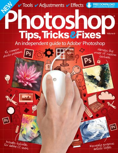 Photoshop Tips, Tricks & Fixes digital cover