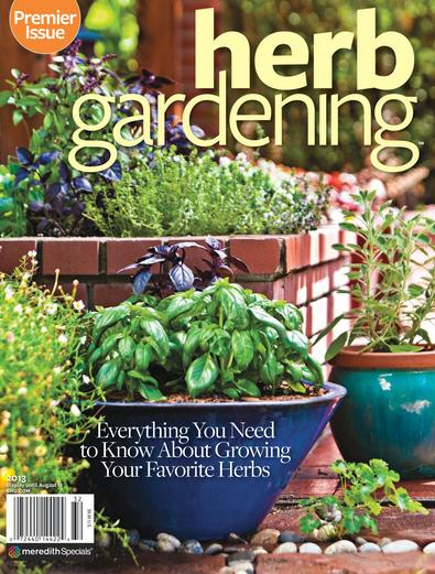 Herb Gardening digital cover