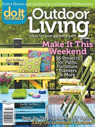 Do It Yourself Outdoor Living digital cover