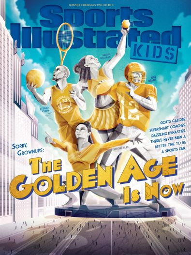 Sports Illustrated Kids digital cover