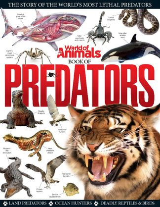 World of Animals Book of Predators digital cover
