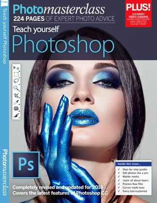 Teach Yourself Photoshop digital cover