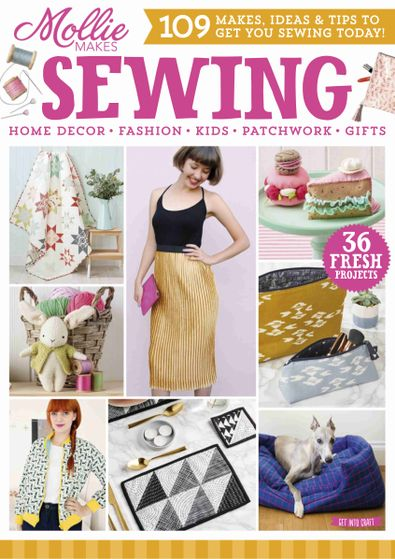 Mollie Makes Sewing digital cover