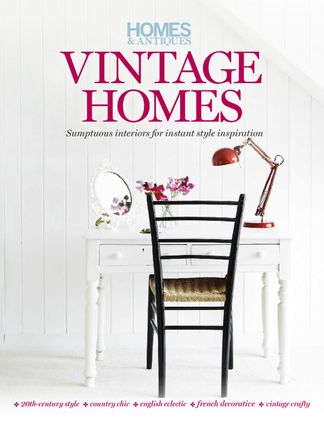 Homes & Antiques magazine presents Vintage Homes digital cover