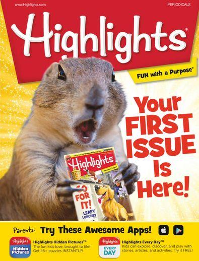 Highlights for Children digital cover