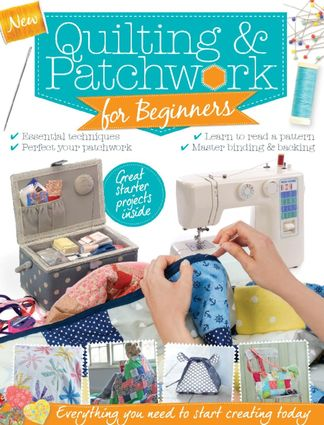 Patchwork & Quilting for Beginners digital cover