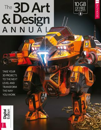 The 3D Art & Design Annual Volume 1 digital cover