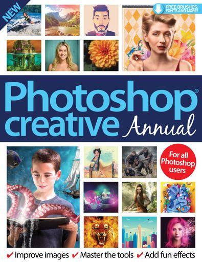 Photoshop Creative Annual digital cover