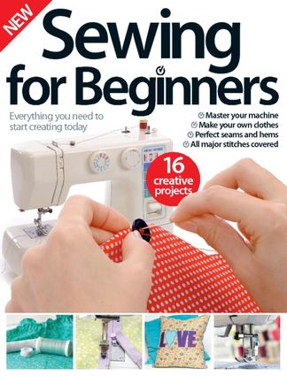 Sewing For Beginners digital cover