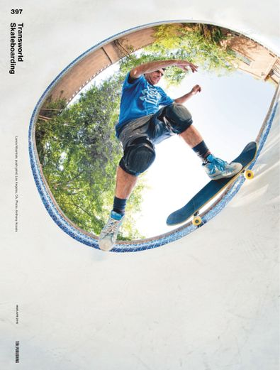 Transworld Skateboarding digital cover