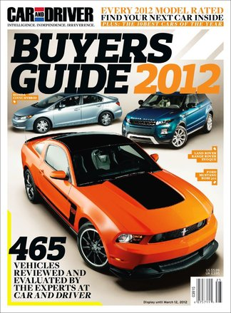 Car and Driver Buyers Guide digital cover