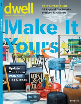 Dwell: Special Issue Make It Yours digital cover