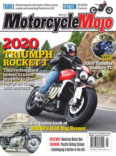 Motorcycle Mojo Magazine digital cover