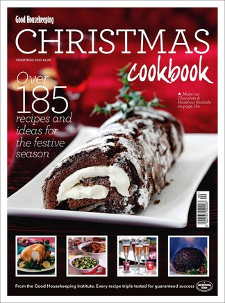 Good Housekeeping Christmas Cookbook digital cover