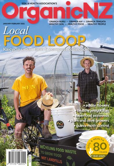 Organic NZ digital cover