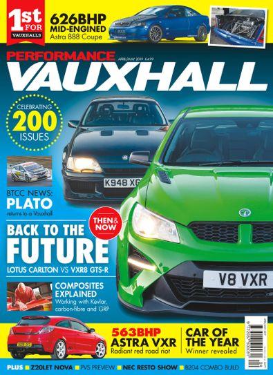 Performance Vauxhall digital cover