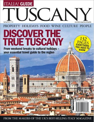 Italia! Guide to Tuscany digital cover