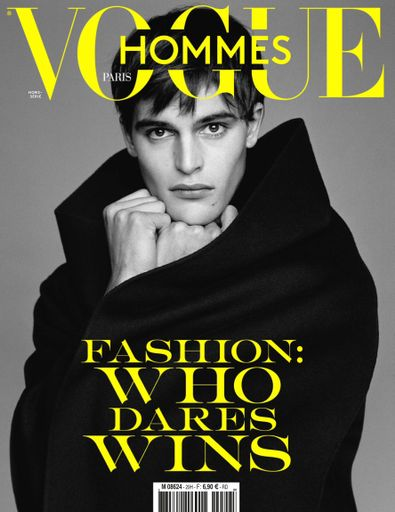 Vogue hommes English Version digital cover