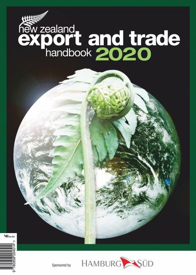 NZ Export and Trade Handbook digital cover