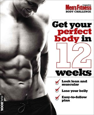 Men's Fitness Body Challenge digital cover
