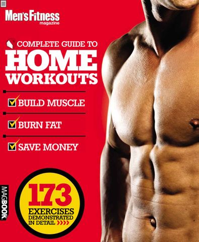 Men's Fitness Complete Guide to Home Workouts digital cover