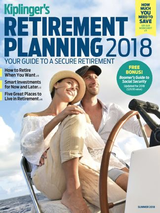 Kiplinger's Retirement Planning digital cover