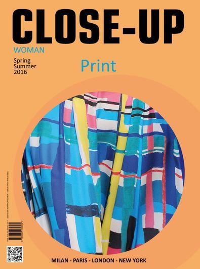 Close-Up Print Women digital cover