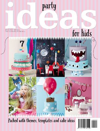 Kids Party Ideas digital cover