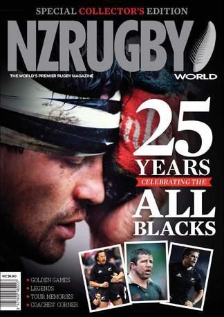 NZ Rugby World - All Blacks digital cover