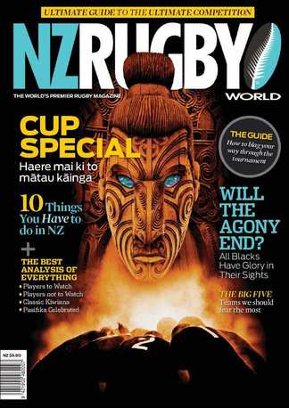 NZ Rugby World - Special Cup Edition digital cover