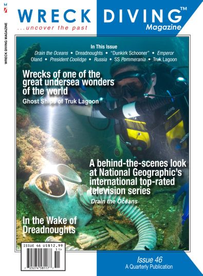 Wreck Diving Magazine digital cover