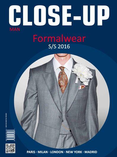 Close-Up Men Formal Wear digital cover