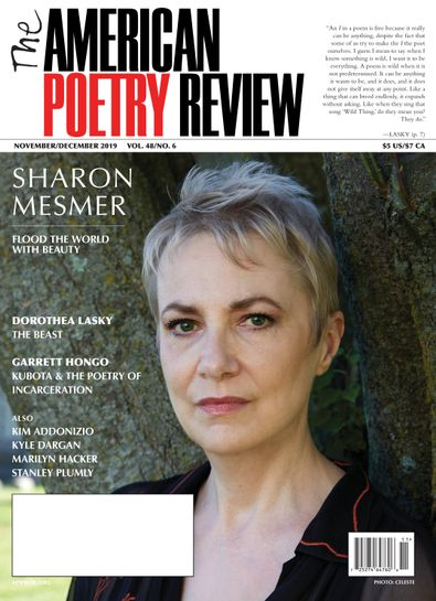 The American Poetry Review digital cover