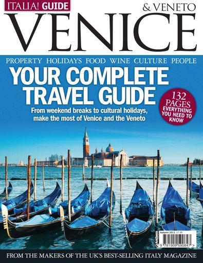 Italia! Guide magazine digital cover