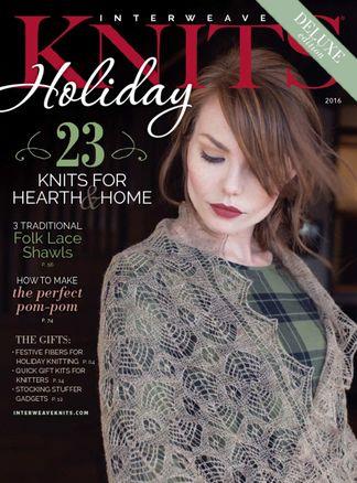Interweave Knits Holiday Gifts digital subscription
