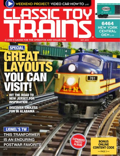 Classic Toy Trains digital cover